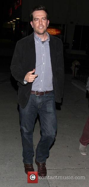 Ed Helms - Celebrities outside The Cat & Fiddle restaurant - Los Angeles, California, United States - Wednesday 21st August...