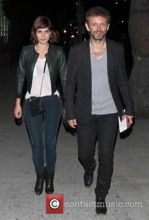 Lizzy Caplan and Michael Sheen - Celebrities outside The Cat & Fiddle restaurant - Los Angeles, California, United States -...