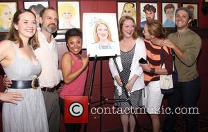 Liesel Allen Yeager, David Hyde Pierce, Shalita Grant, Kristine Nielsen, Julie White and Creed Garnick