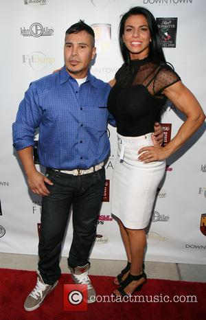 Alejandro Ferrari and Mona Muresan - US debut of the Canali fitness system at Superstar Gym - East Hamptons, NY,...