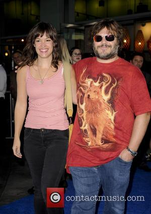Jack Black and Tanya Haden - Los Angeles Premiere of