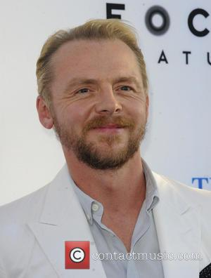 Simon Pegg - Los Angeles Premiere of