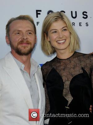 Simon Pegg and Rosamond Pike