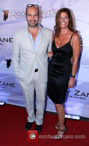 Billy Zane and Gulla Jonsdottir - Hollywood's Preview to Billy Zane's London Art Exhibition 'Seize The Day Bed' - Los...