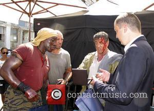 Wesley Snipes, Jason Statham, Sylvester Stallone and Ivan Portnih