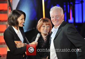 Emma Willis, Bruce Jones and Vicky Entwistle