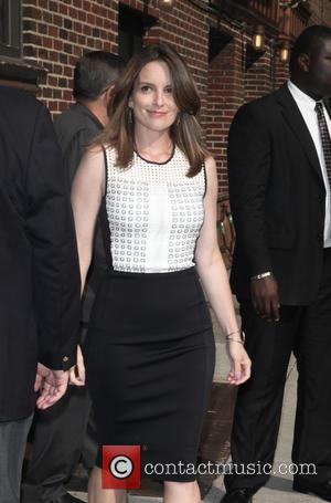 Tina Fey - Celebrities at the Late Show with David Letterman in NYC. - New York, United Kingdom - Thursday...