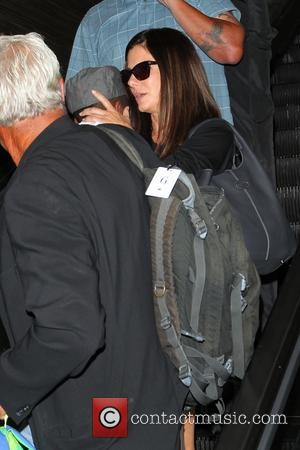 Sandra Bullock and Louis Bullock