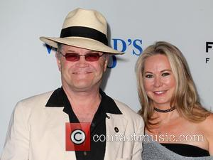 Micky Dolenz and Donna Quinter - THE WORLD'S END Hollywood Premiere - Hollywood, California, United States - Thursday 22nd August...