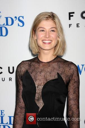 Rosamund Pike - The Worlds End Premiere - Los Angeles, CA, United States - Thursday 22nd August 2013