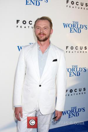 Simon Pegg - The Worlds End Premiere - Los Angeles, CA, United States - Thursday 22nd August 2013
