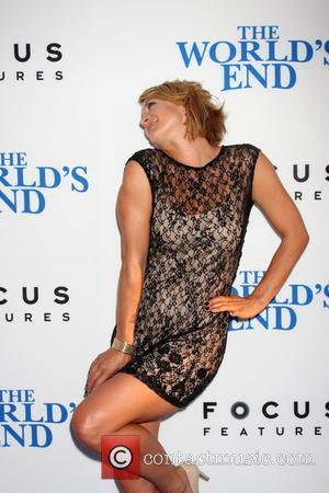 Zoe Bell - The Worlds End Premiere - Los Angeles, CA, United States - Thursday 22nd August 2013