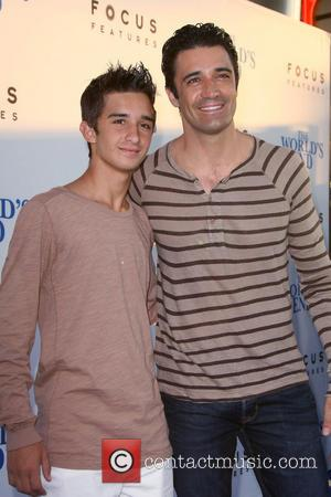Gilles Marini and son Georges Marini - Los Angeles Premiere of
