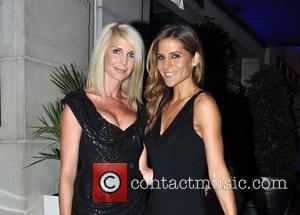 Yvonne Keating and Amanda Byram