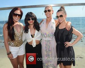 Sharna Burgess, Cheryl Burke, Kym Johnson and Karina Smirnoff