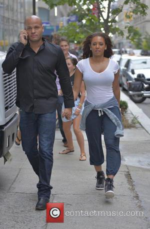 Mel B, Melanie Brown and Stephen Belafonte