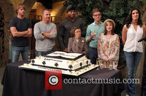Eric Christian Olsen, Chris O'donnell, Ll Cool J, Linda Hunt, Barrett Foa, Renée Felice Smith and Daniela Ruah