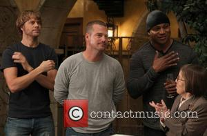 Eric Christian Olsen, Chris O'donnell, Ll Cool J and Linda Hunt