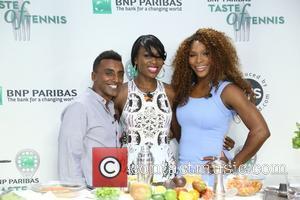 Venus Williams, Marcus Samuelsson and Williams