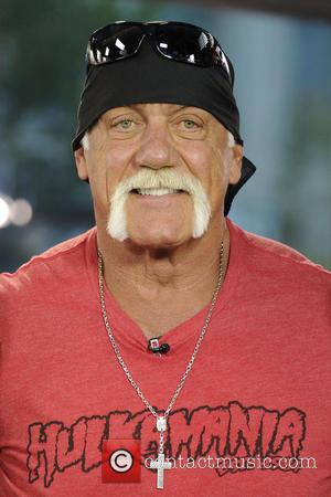 Hulk Hogan Spoofs Miley Cyrus 'Wrecking Ball' Video Wearing Man Thong For New 'Hostamania' Ad
