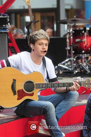 One Direction - One Direction performs on Today Show concert series - NY, NY, United States - Friday 23rd August...