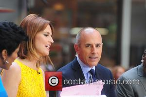 Savannah Guthrie and Matt lauer - One Direction performs on Today Show concert series - NY, NY, United States -...