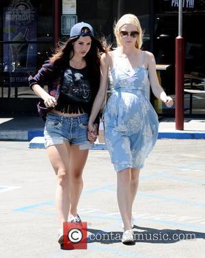 Jaime King and Lana Del Rey