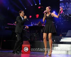 Marc Anthony and Natalia Jimenez