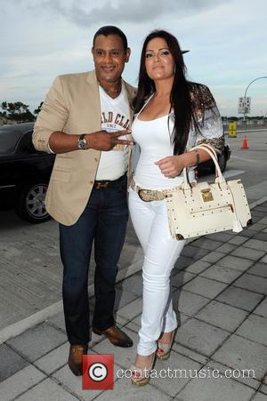 Marc Anthony and Sammy Sosa