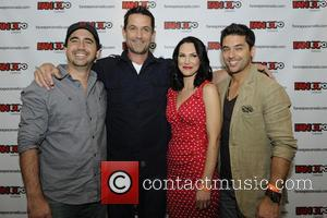 Cameron Porsandeh, Billy Campbell, Kyra Zagorsky and Mark Ghanime