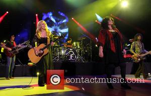 Nancy Wilson, Jason Bonham and Ann Wilson