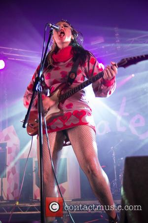 Kate Nash - Leeds Festival in Bramham Park - Day 2 - Performances - Leeds, United Kingdom - Saturday 24th...