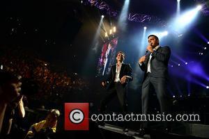 Marc Anthony and Tito El Bambino