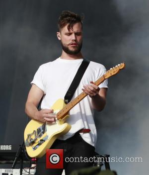 White Lies - Reading Festival 2013 - Day 2 - Performances - Saturday 24th August 2013