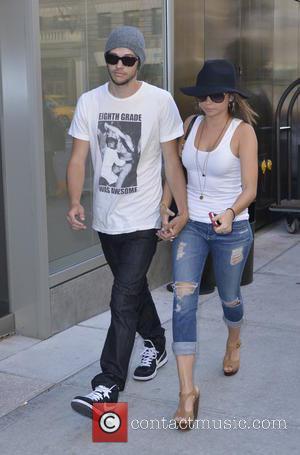 Sarah Hyland and Matt Prokop - 'Modern Family' actress Sarah Hyland and boyfriend Matt Prokop walking together in Manhattan -...