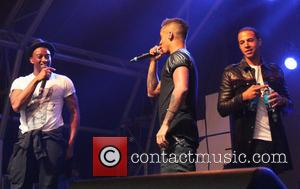 Oritse Williams, Aston Merrygold, Marvin Humes and Jls