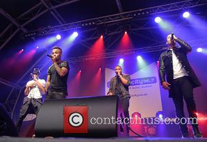 J.b. Gill, Oritsé Williams, Marvin Humes and Aston Merrygold