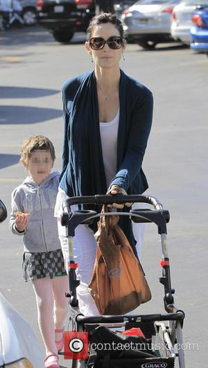 Carrie-Anne Moss - Actress, Carrie-Anne Moss and her daughter heading to the local Farmers Market in Brentwood - Brentwood, CA,...