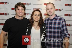Allison Scagliotti, Eddie Mcclintock and Aaron Ashmore