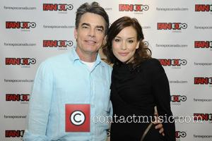 Peter Gallagher and Piper Perabo