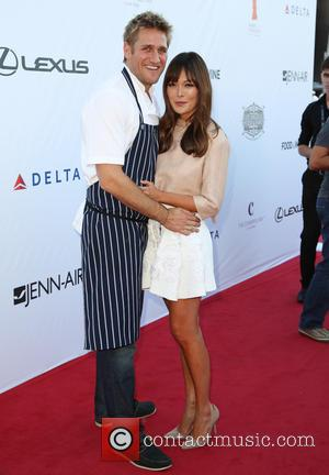 Curtis Stone and Lindsay Price - The 3rd Annual Los Angeles Food & Wine Festival hosted by Curtis Stone in...