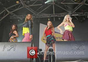 The Saturdays - Liverpool International Music Festival (LIMF) 2013 - Performances - Liverpool, United Kingdom - Sunday 25th August 2013