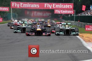 Lewis Hamilton, Mercedesgp and Sebastian Vettel