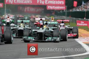 Lewis Hamilton, Mercedesgp and Start Lap -