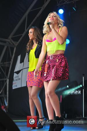 Rochelle Hulmes and Mollie King