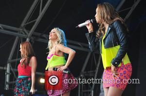 Rochelle Hulmes, Una Healy and Mollie King