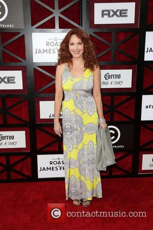 Amy Yasbeck - The Comedy Central Roast of James Franco at Culver Studios - Los Angeles, CA, United States -...