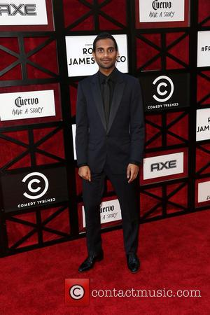 Aziz Ansari - The Comedy Central Roast of James Franco at Culver Studios - Los Angeles, CA, United States -...