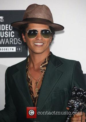 Bruno Mars - 2013 MTV Music Awards held at the Barclays Center - Press Room - Brooklyn, New York, United...