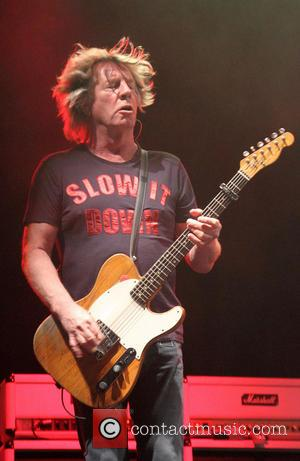 Rick Parfitt - Status Quo performing live at Wrest Park in Bedfordshire - Silsoe, United Kingdom - Sunday 25th August...